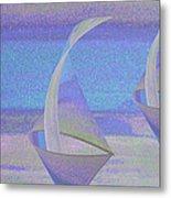 Angelfish3 Metal Print