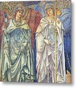 Angeli Ministrantes Metal Print