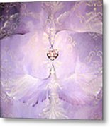 Angelic Cropped Version Metal Print