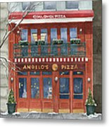 Angelo's On 57th Street Metal Print