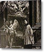 Angels And Saints Metal Print