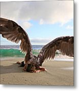 Angels- For The Lord Himself Will Descend From Heaven With A Shout Metal Print