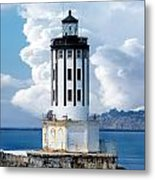 Angel's Gate Lighthouse Metal Print