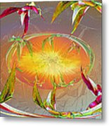 Angels Gather To The Love Of The Lord Metal Print