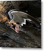 Angels- He Will Bring Peace To Your Heart Metal Print