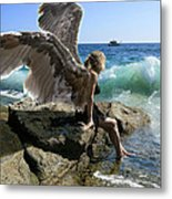 Angels- I'm Watching Over You Metal Print