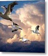 Angels In Flight Metal Print