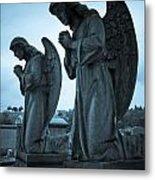 Angels In Prayer Metal Print