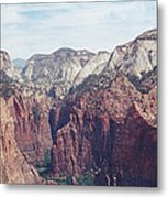 Angel's Landing Metal Print