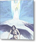 Angels Of Light And Darkness Metal Print