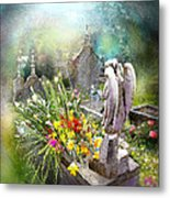 Angels Of Stone Metal Print