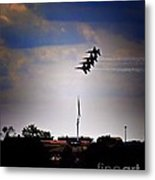 Angels Over Ft. Mchenry 2 Metal Print