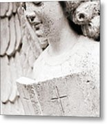 Angels Prayers And Miracles Metal Print