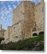 Angels Rejoicing Over Jerusalem Metal Print