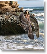 Angels- Shhh Stand Still And Be Quiet Metal Print