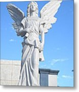 Angels Watch Over You Metal Print