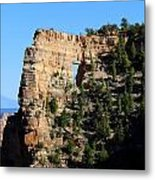Angel's Window Cape Royal Metal Print
