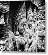 Angkor Beautiful Apsaras Metal Print