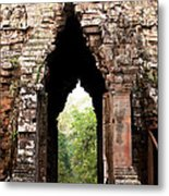 Angkor Thom East Gate 02 Metal Print