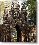 Angkor Thom North Gate 01 Metal Print