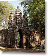 Angkor Thom North Gate 02 Metal Print