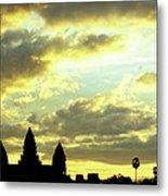 Angkor Wat Sunrise 03 Metal Print