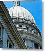 Angle On The Capitol Metal Print