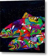 Anglers Dream Metal Print by Tracy Miller
