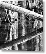 Angles And Reflections Metal Print