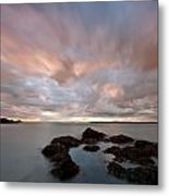 Anglesey Sunset Metal Print