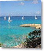 Anguilla Regatta Metal Print
