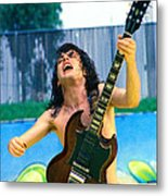 Angus Young Of A C D C At Day On The Green Monsters Of Rock  7-21-79  Metal Print