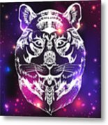 Animal Head Print For Adult Anti Stress Metal Print