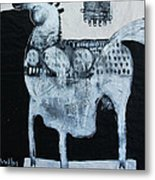 Animalia  Equos No 4 Metal Print
