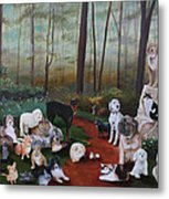 Animals Living In Harmony Metal Print by Cecilia Brendel
