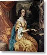 Ann Hyde, Duchess Of York (1637-1671) Metal Print