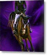 Ann Knight Karrasch On Horse Coral Reef Aajee Metal Print