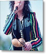 Ann Wilson Of Heart At 1981 Day On The Green In Oakland Ca Metal Print