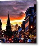 Annapolis Night Metal Print