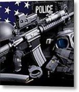 Annapolis Police Metal Print