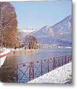Annecy Fairytale. France Metal Print