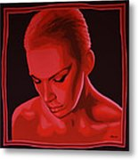 Annie Lennox Metal Print by Paul Meijering