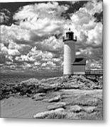 Annisquam Lighthouse Infrared Metal Print