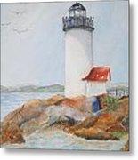 Annisquam Lighthouse Metal Print