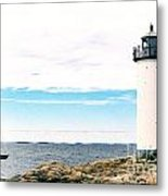 Annisquam Lighthouse Metal Print