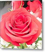 Anniversary Roses With Love 1 Metal Print