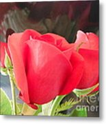 Anniversary Roses With Love 2 Metal Print