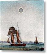 Annular Eclipse Of The Sun Metal Print