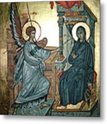 Annunciation Metal Print by Filip Mihail