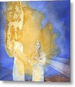 Annunciation Metal Print by John Meng-Frecker